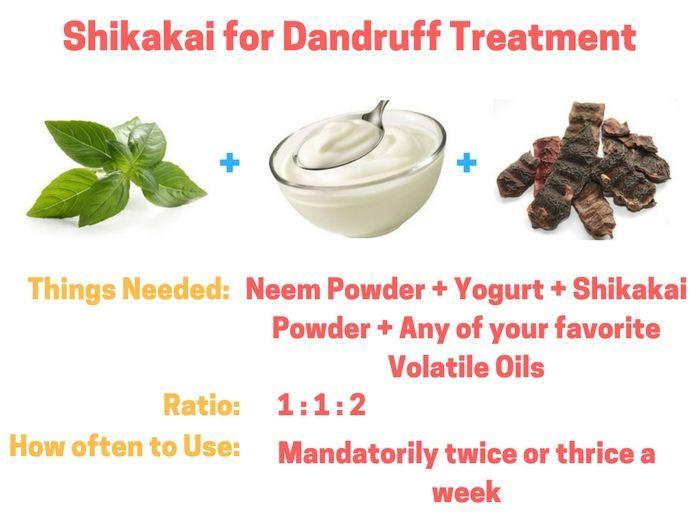 Apply the best shikakai fruit powder for hair growth