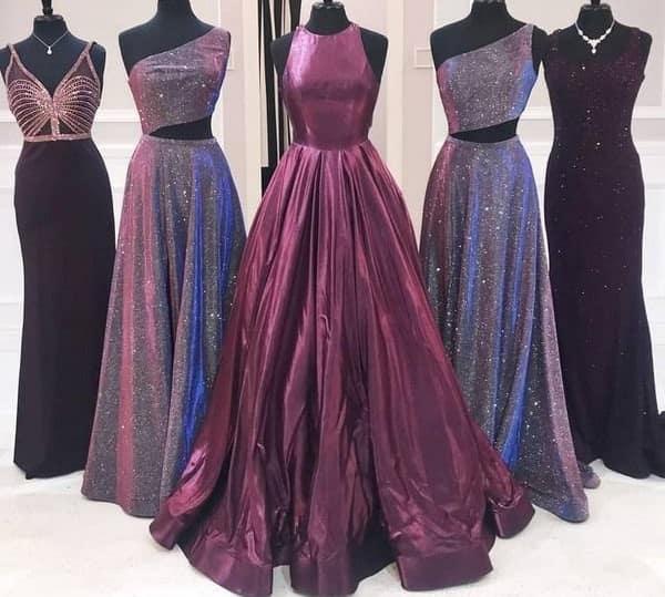 Shopping for Prom Dresses