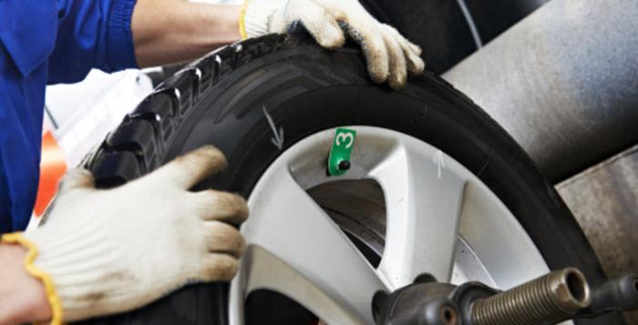 Tyres Having Flat Spots