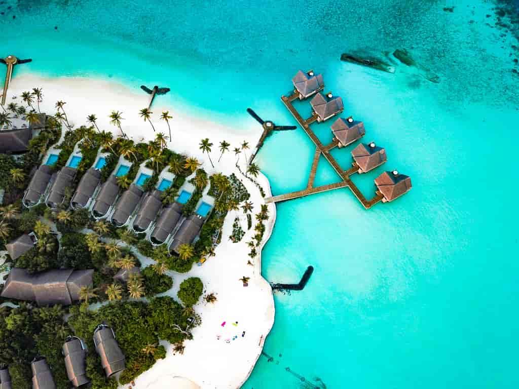 Visit in Maldives