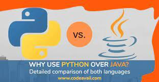 Why use Python over Java? Detailed comparison of both languages