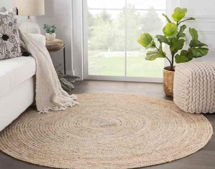 types of round rugs in rug stores