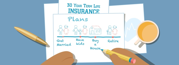 A Term Life Insurance Plan After The 30s