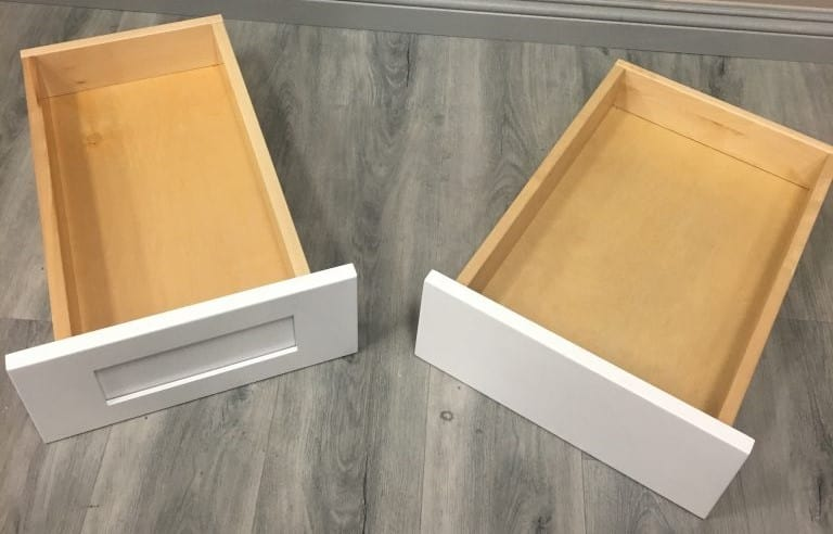 Check out the frames of the boxes of Forevermark cabinets
