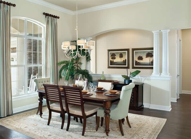 Create a private setting in Dining Room