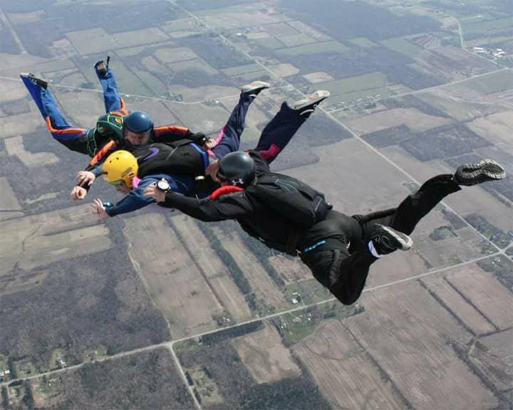 Cue Finger Lake Skydivers