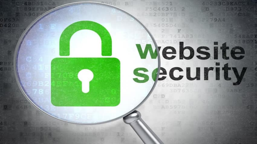 Ensuring website security and privacy