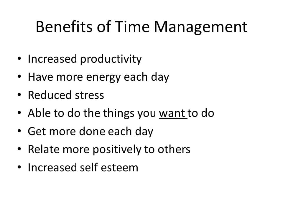 Focusing on time management is vital in employees training