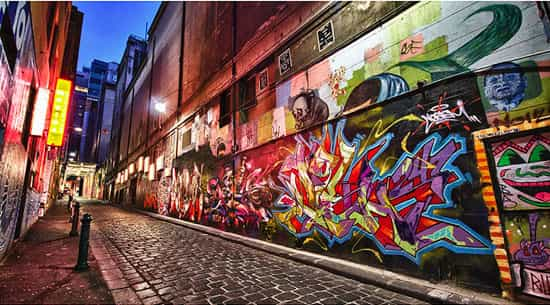 Graffiti And Street Art in Melbourne through history