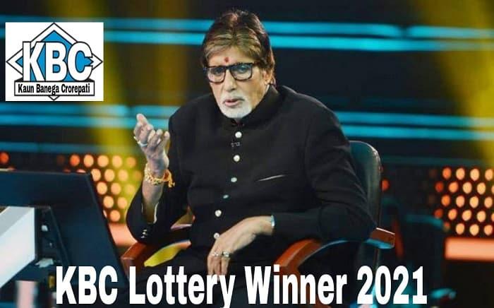 KBC Lottery Winners 2021 List WhatsApp
