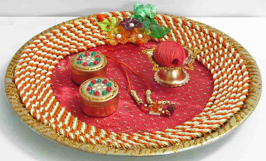 KarvaChauth thali