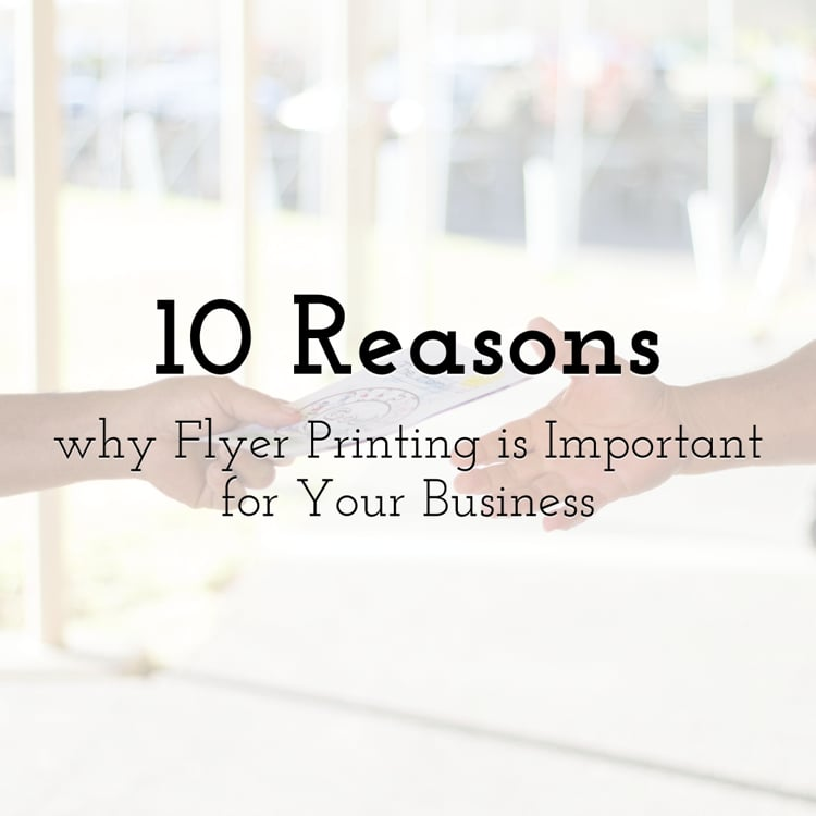 The Importance Of Professional Flyer Printing Services In Promoting A Business