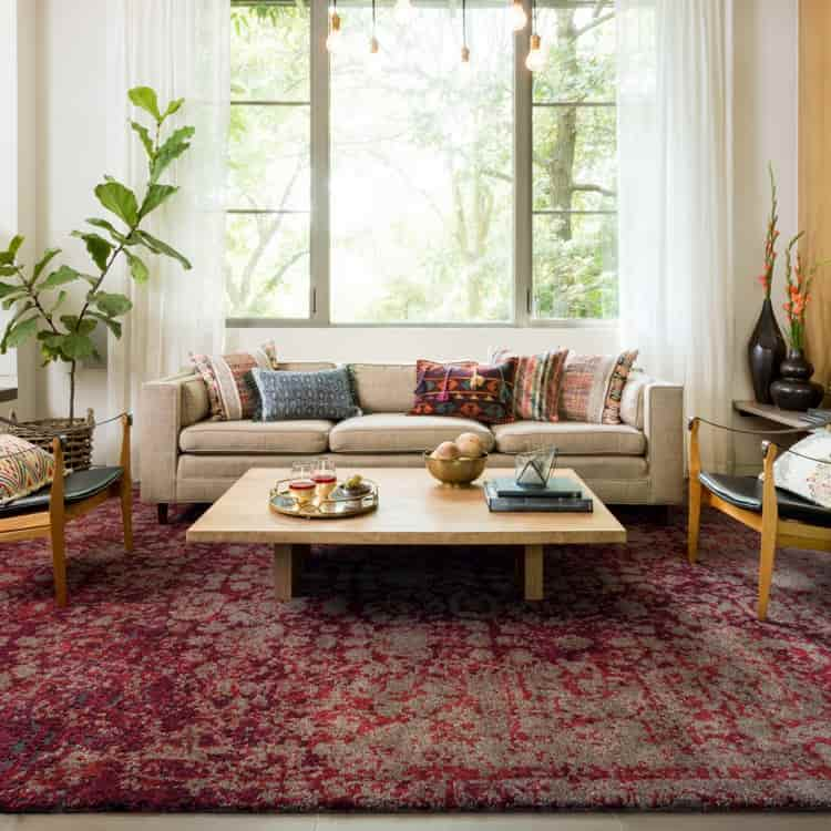 The Right Rug For Living Area