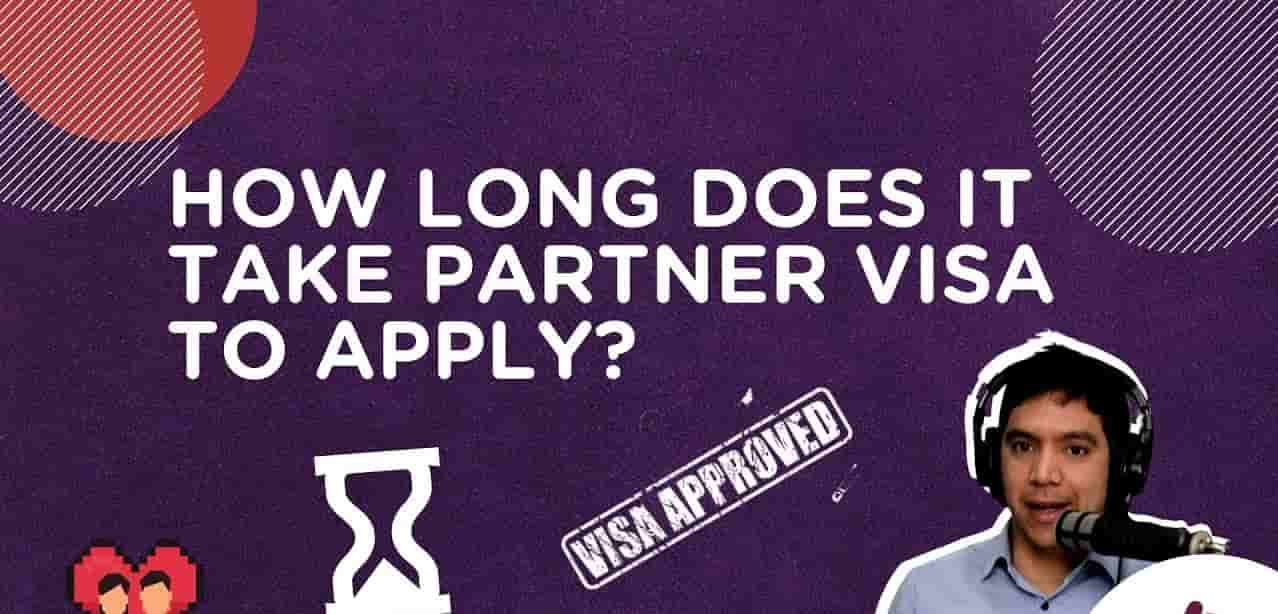 The time duration for the partner visa