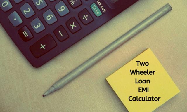 Two-wheeler loan calculator