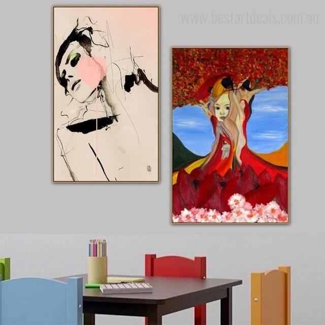 2 piece wall art