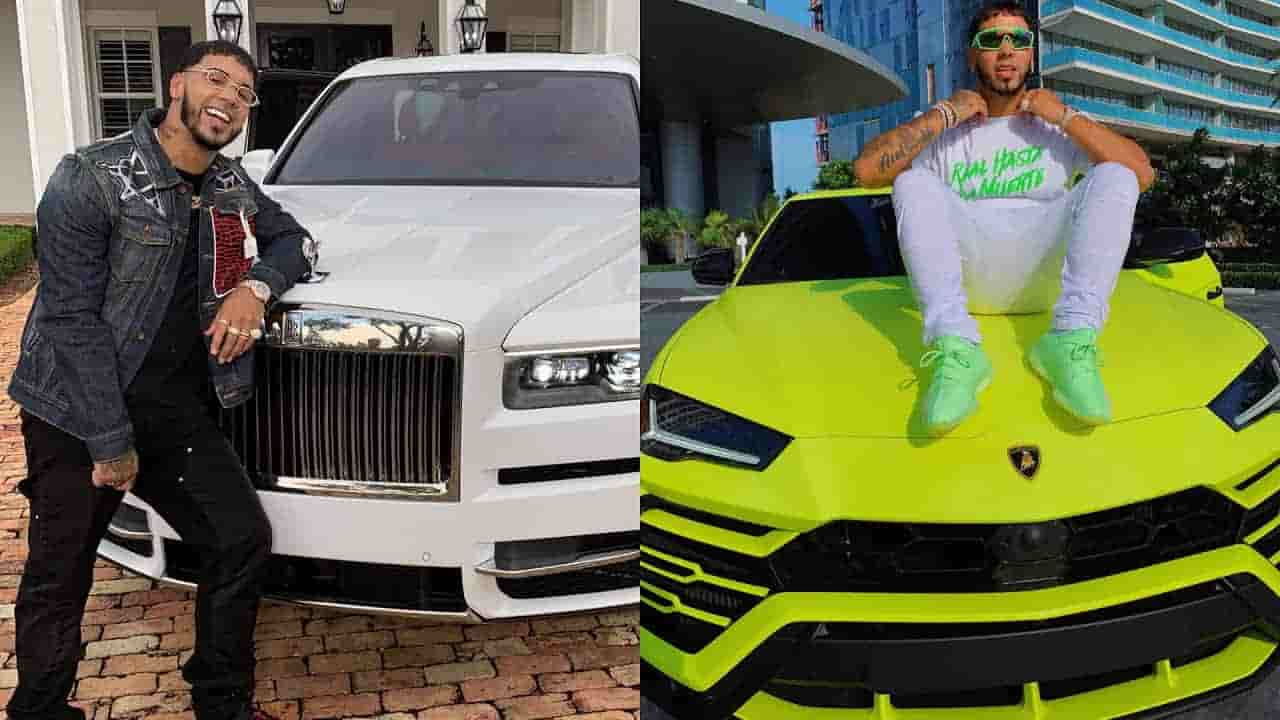 Anuel AA Net Worth supports his interest in Cars