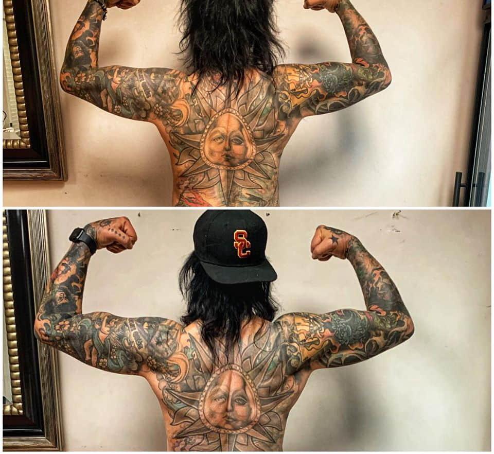 Nikki Sixx Gym Styles