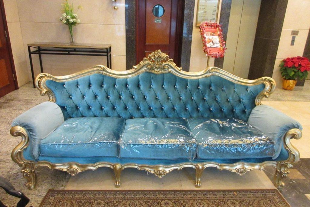 Taking Care of your Velvet Sofa