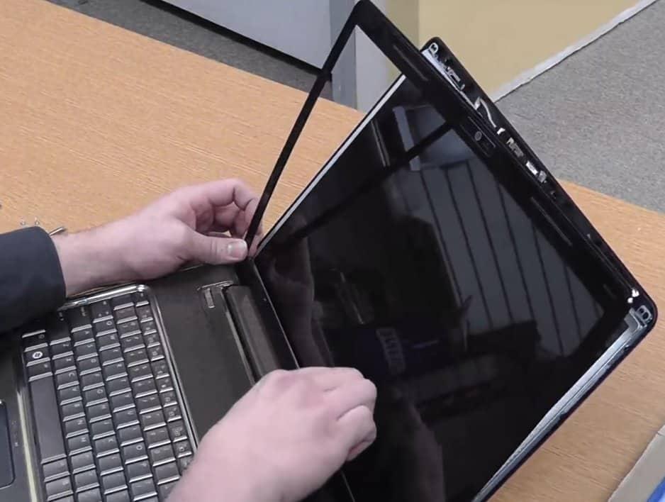 fix the new laptop screen