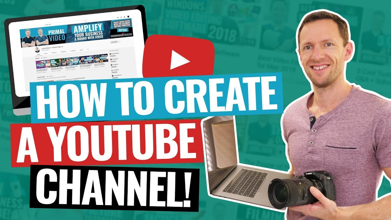 Complete Steps to Open an Account on YouTube