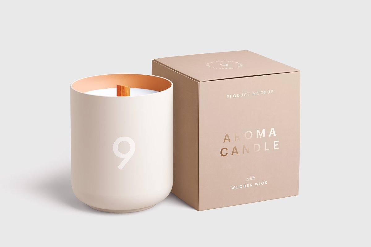 perfect designs of candle boxes with attractive color